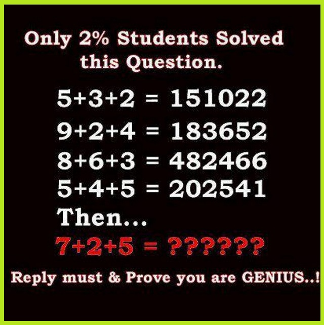 Math problems with answers