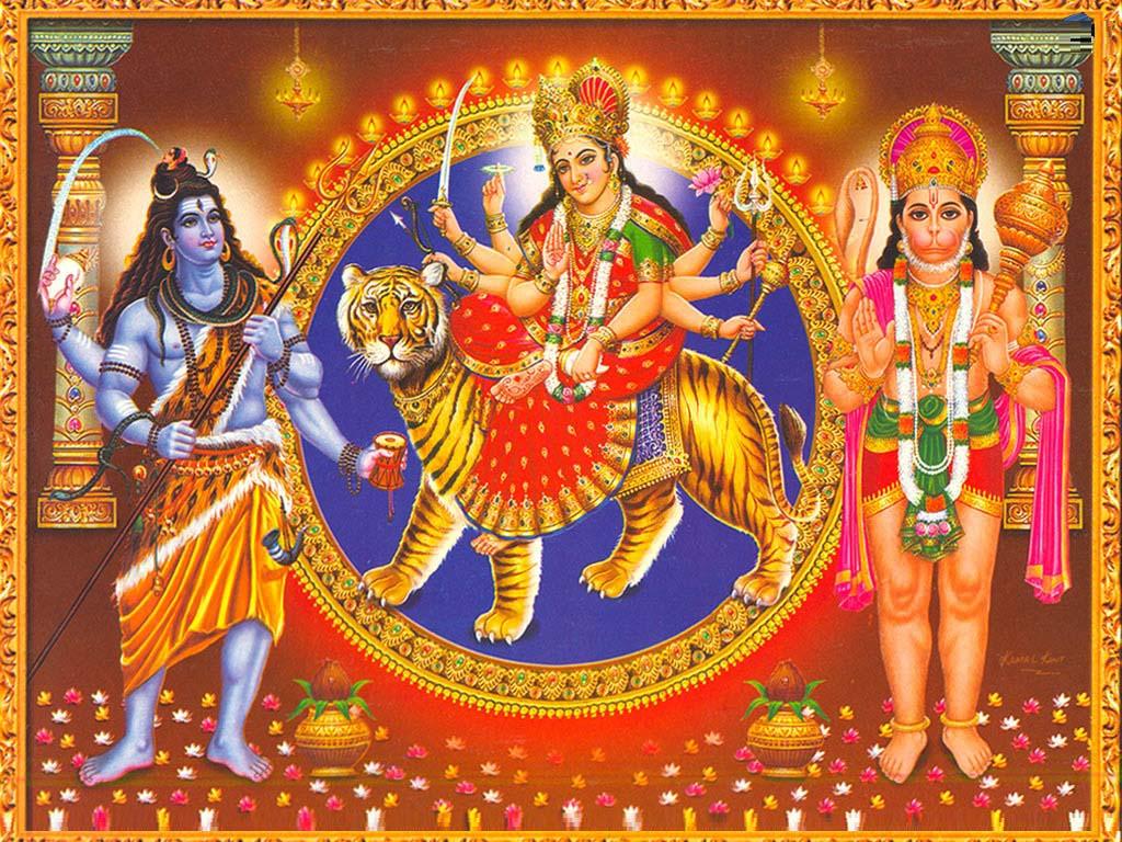 Hd wallpaper hanuman - Maa Durga Shiv Hanuman Beautiful Hd Wallpaper Happy Durga Puja Maa Durga Hd Wallpaper Pics Happy Navratri Pics Happy Durga Ashtami Pics Pics Story