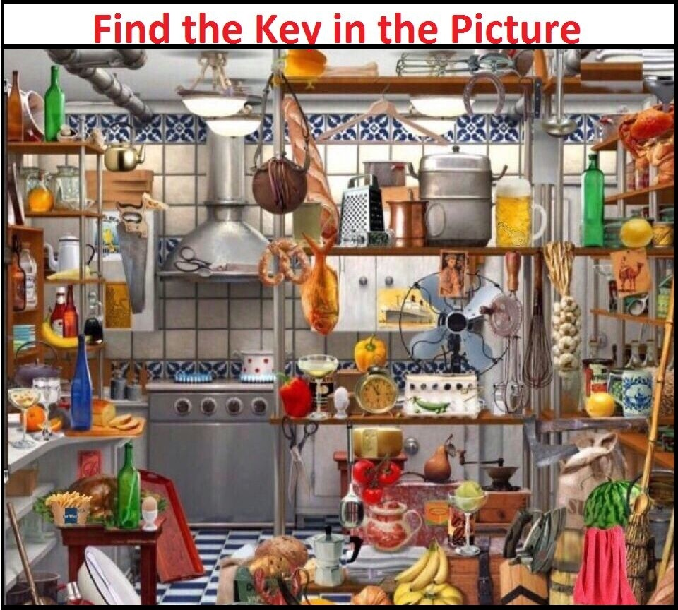 ... the KEY in the Picture! Tricky Puzzles | Brain Teasers | Pics Story