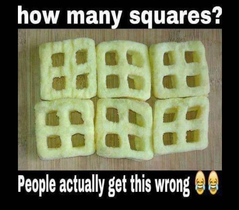 how many squares  brainteaser puzzle