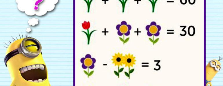 Viral Flower Puzzle Image for Facebook
