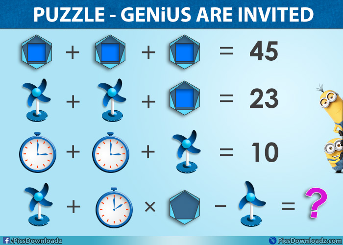 Only For Genius Puzzles!! on Flipboard