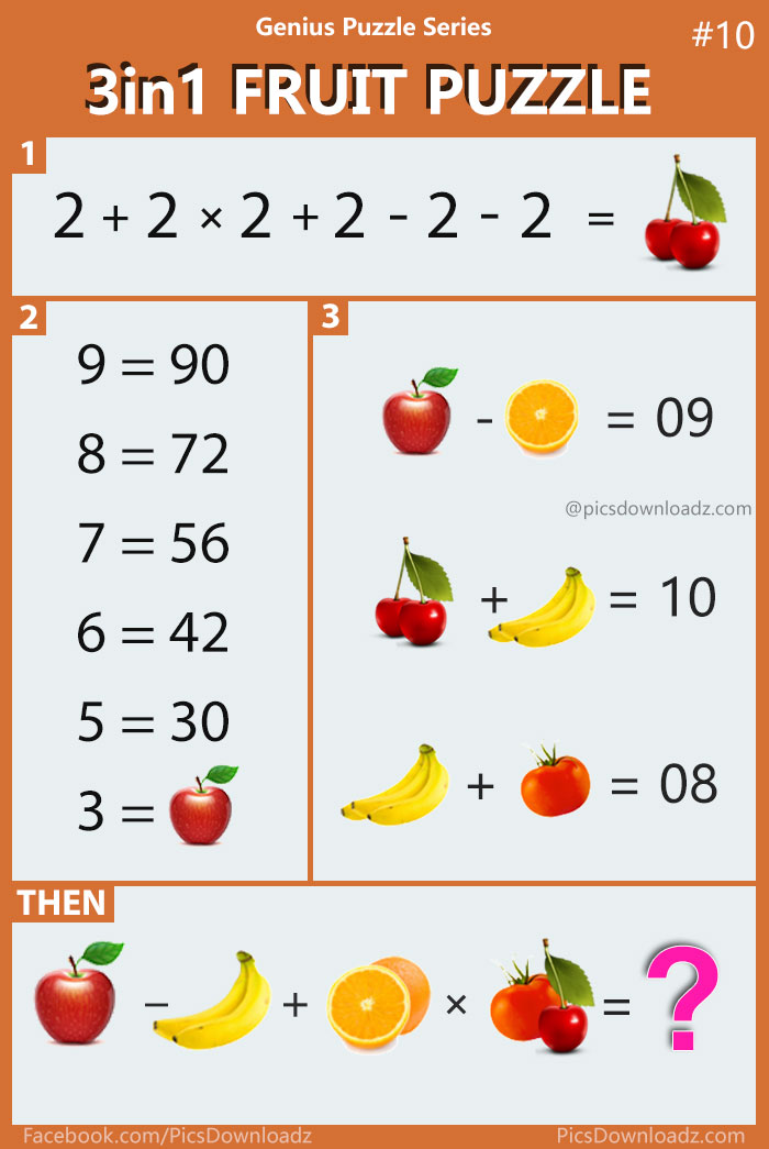 3in1 fruit puzzle genius puzzle series 10 viral